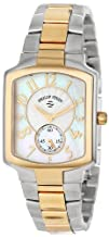 Philip Stein Womens 21TG-FW-SSTG Classic Two-Tone Gold Plated