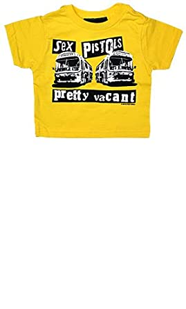 Sourpuss SEX PISTOLS PRETTY VACANT Toddler Tee- Yellow