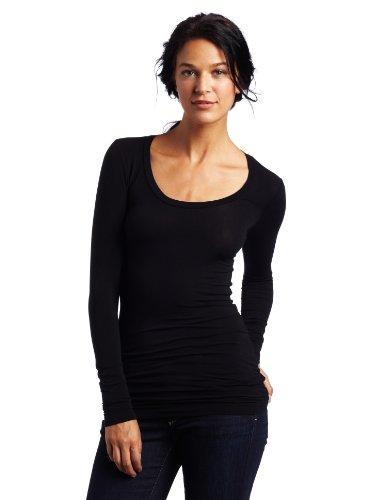 splendid-womens-stretch-long-sleeve-top-black-large