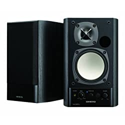 ONKYO パワードスピーカーシステム 40W+40W GX-500HD(B) ブラック