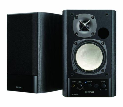 ONKYO WAVIO パワードスピーカーシステム 40W+40W ブラック GX-500HD(B)