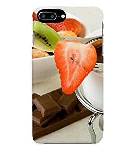 GADGET LOOKS PRINTED BACK COVER FOR APPLE iPHONE 7 PLUS MULTICOLOR