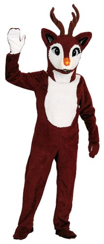 Reindeer Mascot Costume - Adult Std.