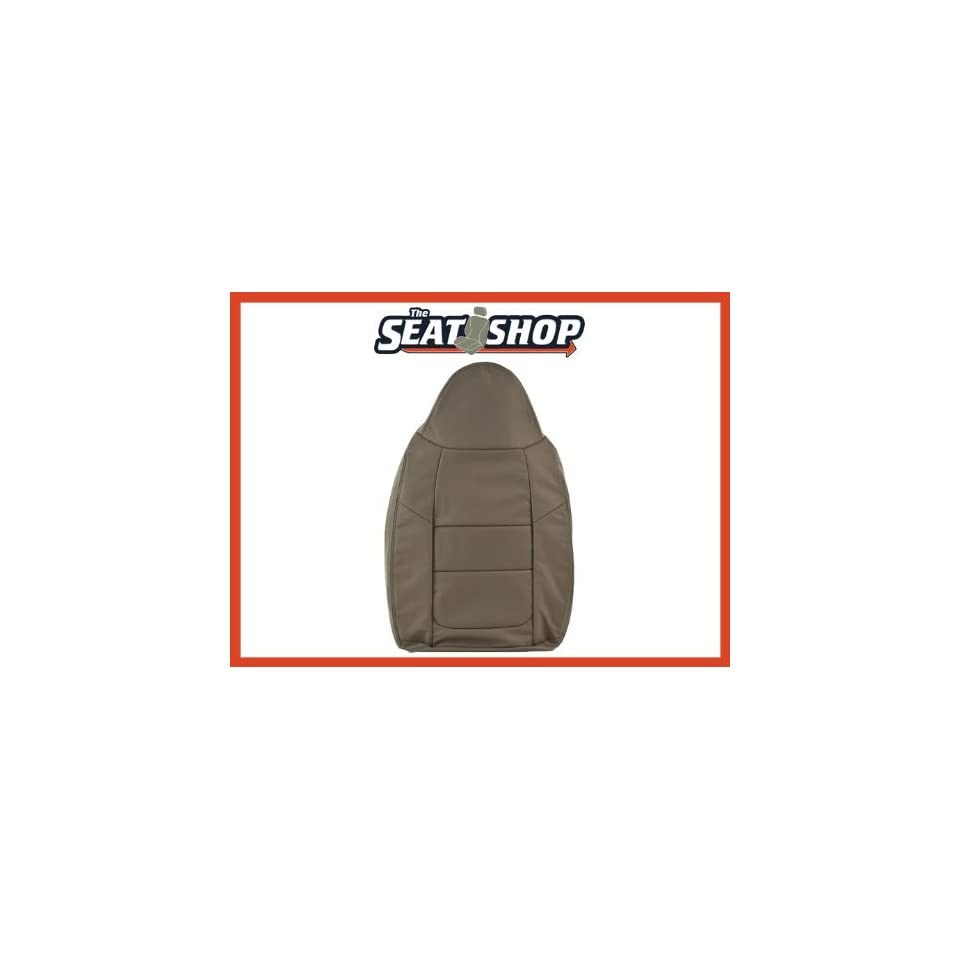 2001 Ford F250/350 Grey Leather Seat Cover LH Top (40/20/40)