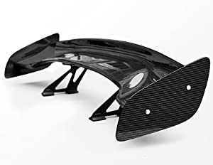 JDM GT Style Carbon Fiber Spoiler Wind Wing Brand NEW Universal Fit