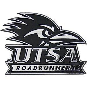 UTSA Roadrunners Metal Auto Emblem