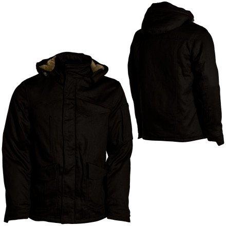 Hemp Hoodlamb Tech 4-20 Jacket - Men's Old Skool Blue, XL