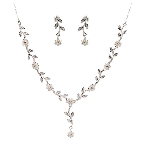vine wedding dress necklace