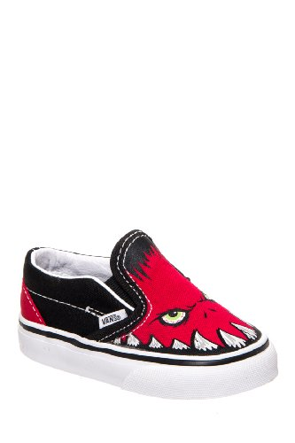 Vans Toddlers' Classic Slip-On Monster Sneaker