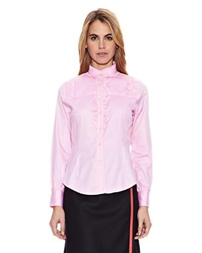 Vilagallo Camisa Mujer Piacenza Rosa