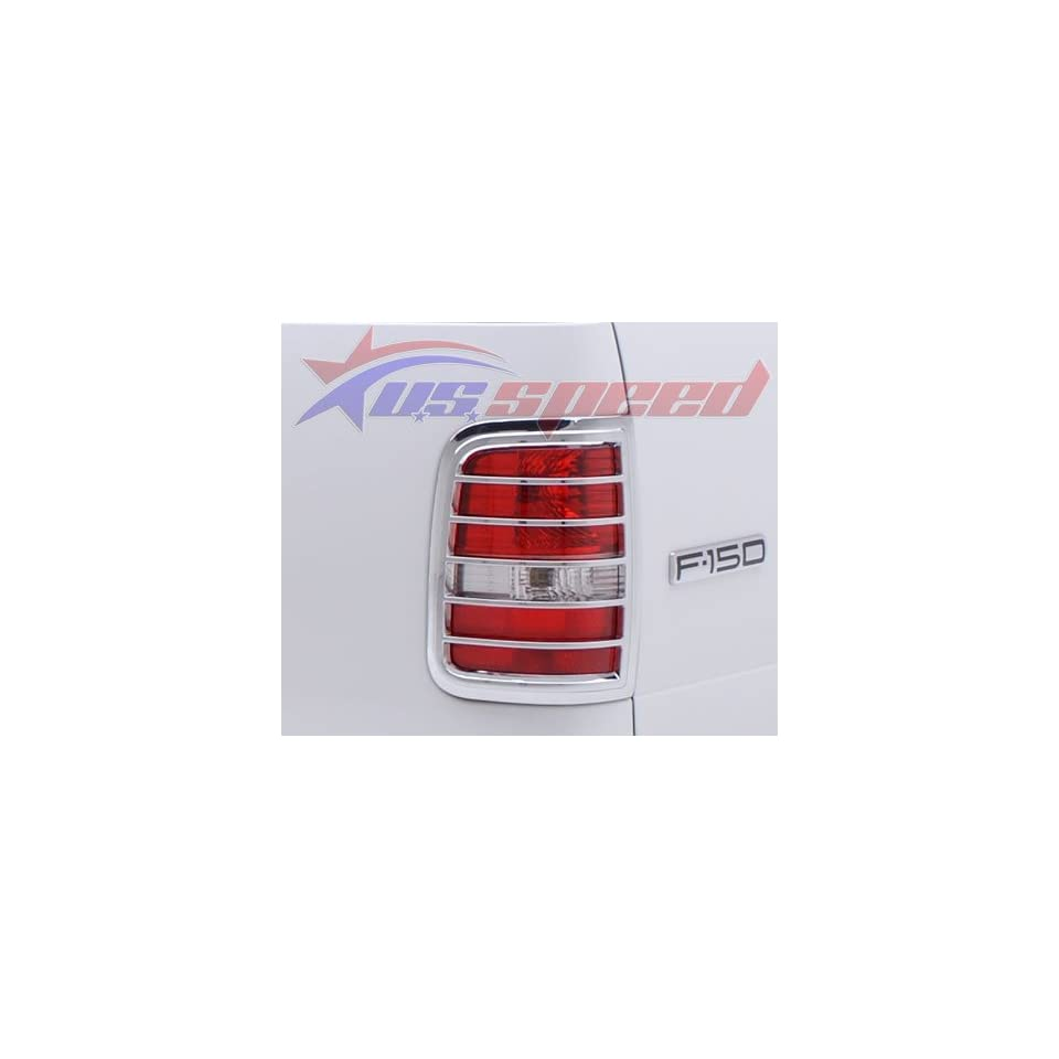 2004 2008 Ford F150 Chrome Tail Light Covers 2PC Automotive