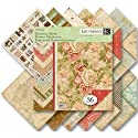 "Life's Journey Double Sided Paper Pad 12""X12""-36 Sheets, 3 Each/12 Designs"
