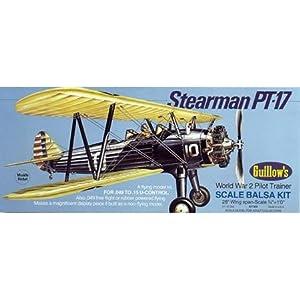 Guillow's Stearman PT-17 Model Kit:
