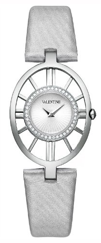 Valentino Vanity Stainless Steel & Diamond Womens Fashion Strap Watch V42SBQ9102-S108