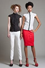 BL3140 Control Top Button Back Pencil Skirt
