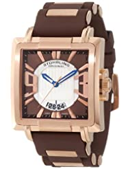 Stuhrling Original Men's 278B.3347K59 Sportsman Il Capo Classic Swiss Quartz Date Brown Watch