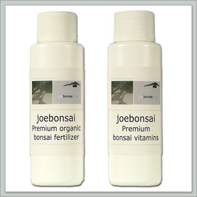 Buy Joebonsai Fertilizer and Vitamin Combo | 2 Oz. Bottles – By joebonsai