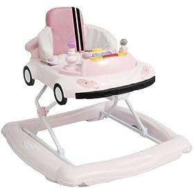 2 in 1 Pink Baby Walker / Rocker By Delta