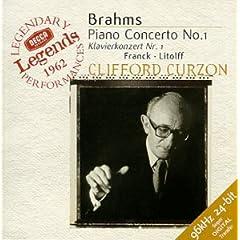 Brahms: Piano Concerto no 1 / Curzon, Szell