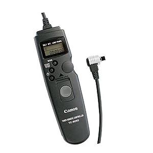 Canon TC-80N3 Timer Remote Controller for EOS 10D, 20D, 30D, 40D, 50D, 7D, 6D, 5D, 1D, 1Ds, D30, D60, 1V & 3 SLR Cameras
