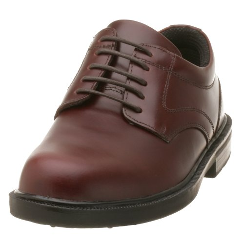 Deer Stags Men's Times Plain Toe Oxford,Brown,11 W