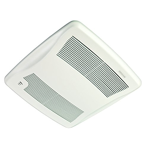 Broan XB110H Ultra Green Energy Star Qualified Humidity Sensing Bathroom Fan, 110 CFM, White (Nutone Ultra Green compare prices)