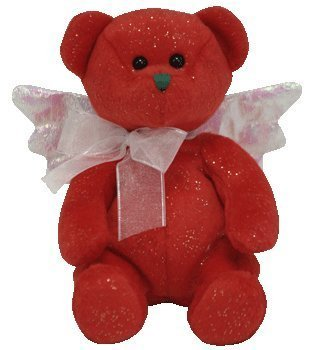 TY Beanie Baby - HARK the Angel Bear (Red Version)