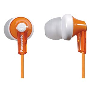 Panasonic Rphje120d In-ear Headphone Orange