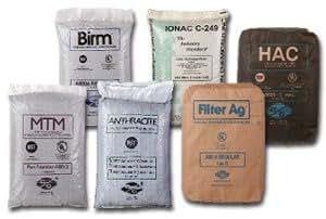 Filox media, 1/2 cu. ft. bag of Filox iron sulfur filter replacement media