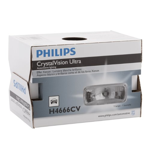 Philips H6024 CrystalVision ultra Upgrade Xenon-Look Halogen Headlight, 1 Pack (Pontiac Sedan Delivery compare prices)