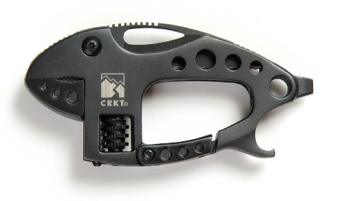 Columbia River Knife and Tool 9075K 2-1/9-Inch Multi-Tool Lil Guppie Knife, Black