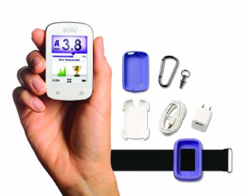 B007N0JTHK Striiv Smart Pedometer, Accessory Bundle