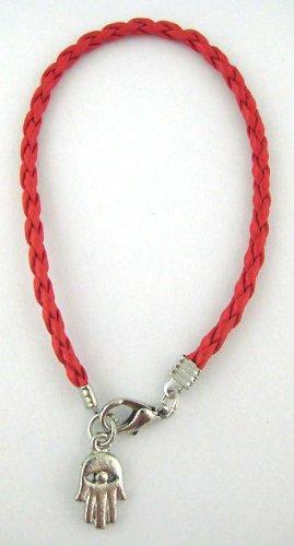 Red String Kabbalah Hamsa Bracelet
