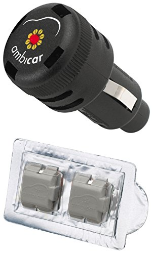 Ambicar Elegance(Refined And Exclusive) Electric Car Air Freshner(Black,34g)