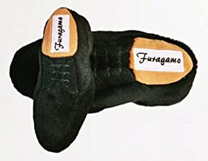 Dog Toys - Furagamo Mens Shoe (small) Dog Toy by Haute Diggity Dog