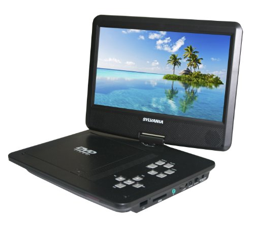 Buy Cheap Sylvania SDVD1030 10-Inch Portable DVD Player with 5 Hour Battery Life
