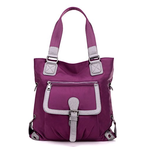 Cloudbag HB30045 Nylon Handbag for Women,Simple Solid Shoulder Bags
