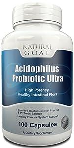 Acidophilus Probiotic Ultra - Highly Potent - Blue