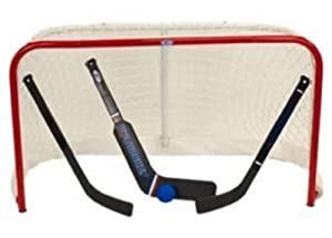 USA Hockey Pro Form Mini Net Set 2 Sticks & Goalie Stick Foam Ball, Knee Hockey .... by USA HOCKEY