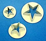 PME Star Cutters, Set of 3