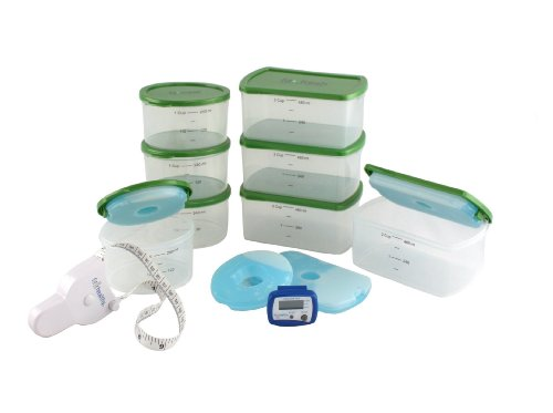 Fit & Healthy Kit with Body Tape Measure and Pedometer Fit & Fresh B00F3J9GA8