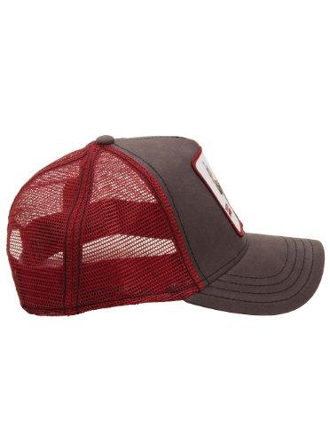 Goorin Bros Men's Buck Fever Trucker Snapback Hat Cap (Gray/Red) (Goorin Brothers Caps compare prices)