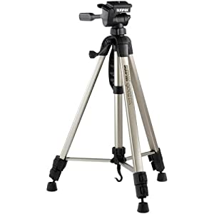 Sunpak 620-092 9002DX Tripod with 3-Way Quick-Release Pan Head