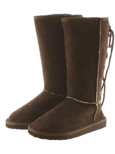 Couture Discount Damenstiefel Fell Boots, braun (WST3), Gr. 36