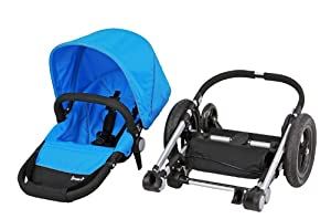 Dream On Me Acrobat Multi Terrain Stroller and Bassinet, Mali Blue