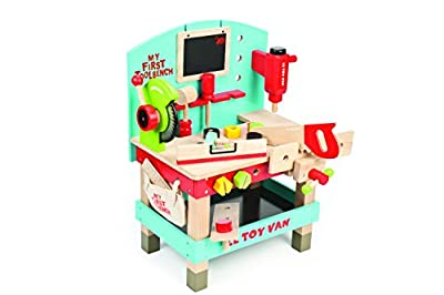 Le Toy Van My First Wooden Tool Bench