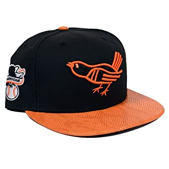 Baltimore Orioles New Era Snake-Thru Strapback Hat by New Era