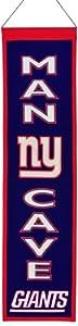 NFL New York Giants Man Cave Banner by Winning Streak