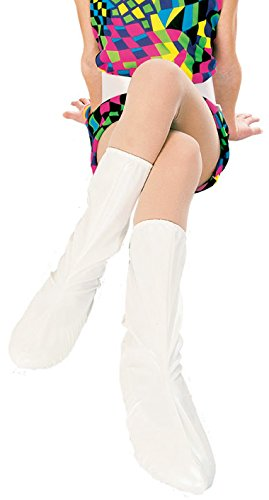 Rubies Groovy White Go-Go Boot Tops for Children,Small