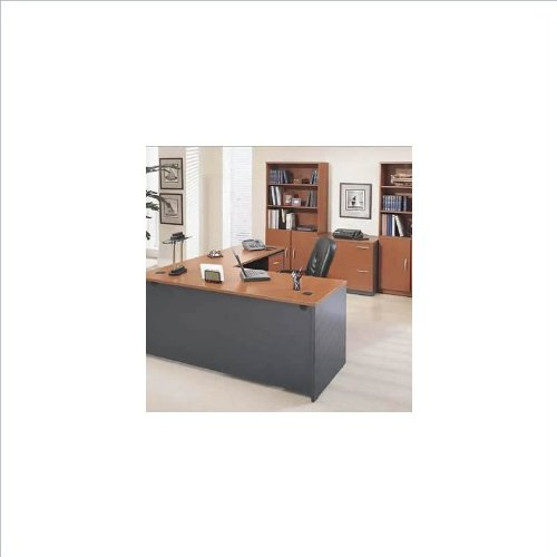 get cheap bush furniture series c corsa l shape separated wood office